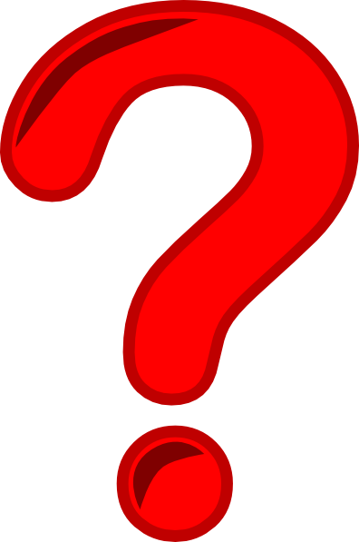 396x597 Red Question Mark Clipart