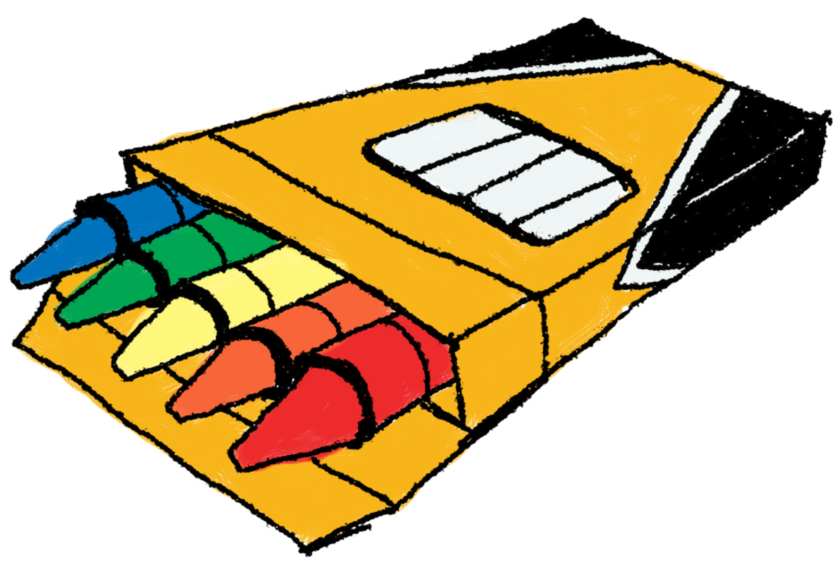 1200x823 Top 88 Crayons For Clip Art