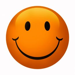 260x260 Free Clipart Smiley Face