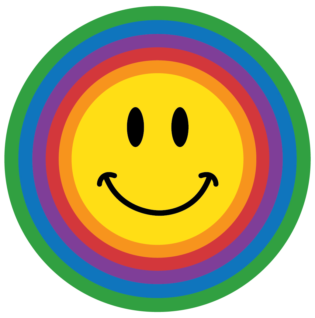 1036x1047 Rainbow Clipart Smiley Face