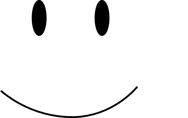600x378 Smiley Face Clipart Black And White Free Clipart 2