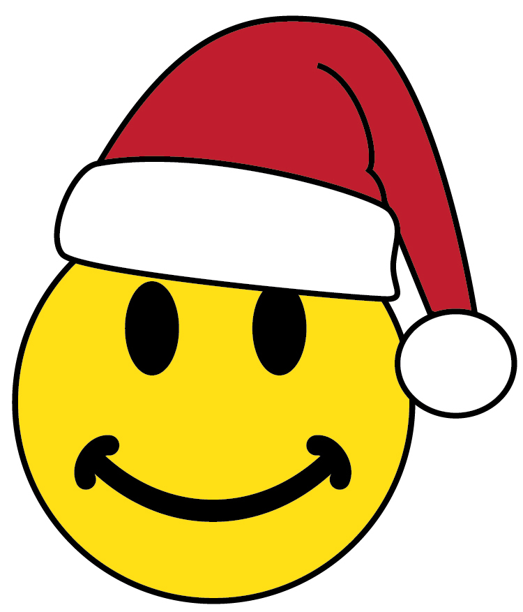 750x877 Christmas Smiley Face Clipart
