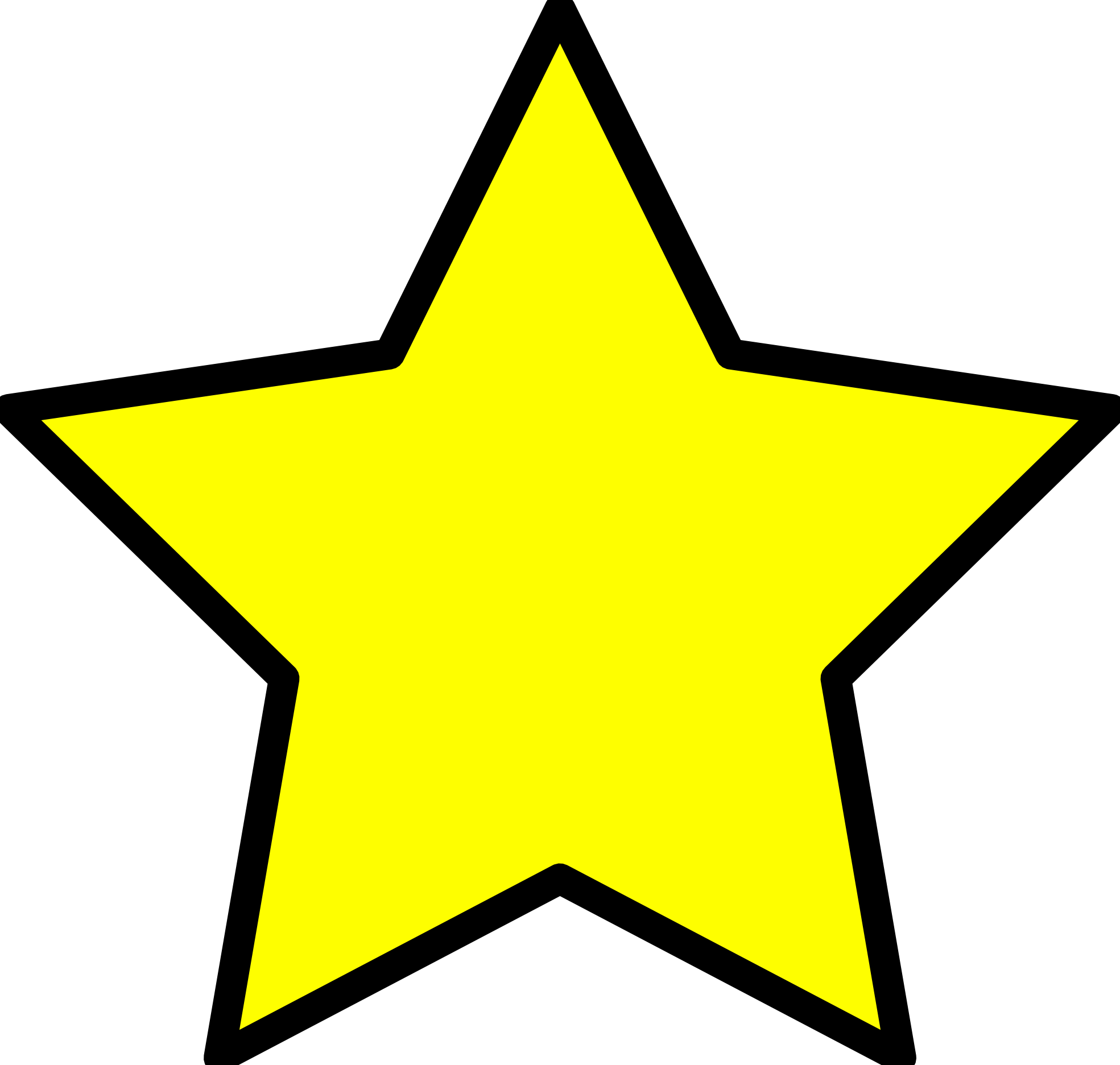 Images Of A Star Clipart