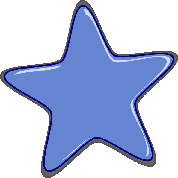 594x595 Star Clip Art Outline Free Clipart Images Image