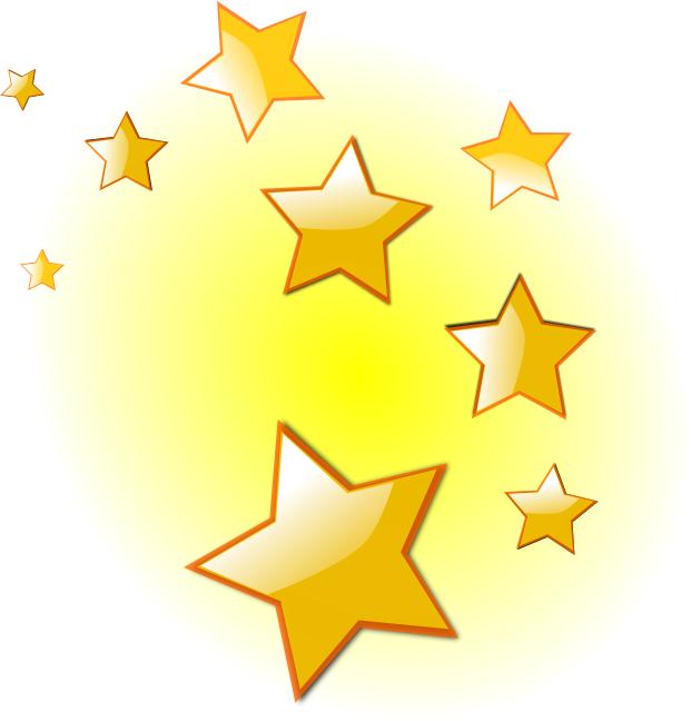 621x648 Christmas Star Clip Art