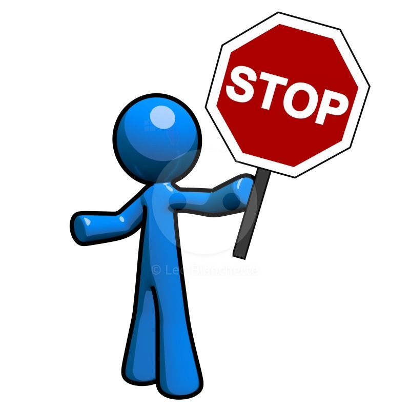 800x800 Stop Sign Clipart