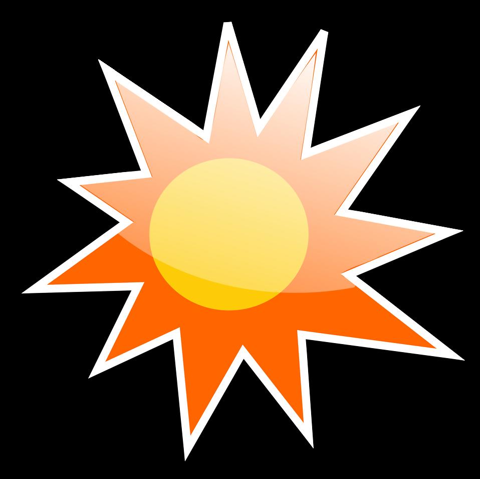 958x955 Sun Free Stock Photo Illustration Of A Sun