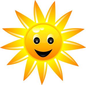 300x296 Sun Clipart Image
