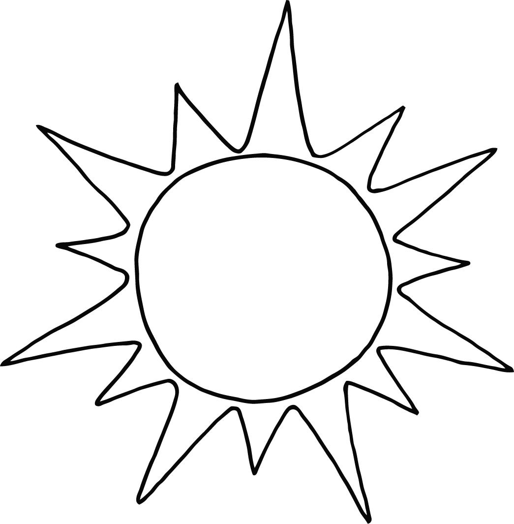 1045x1065 Sun Coloring Pages To Print Page Image Clipart Images