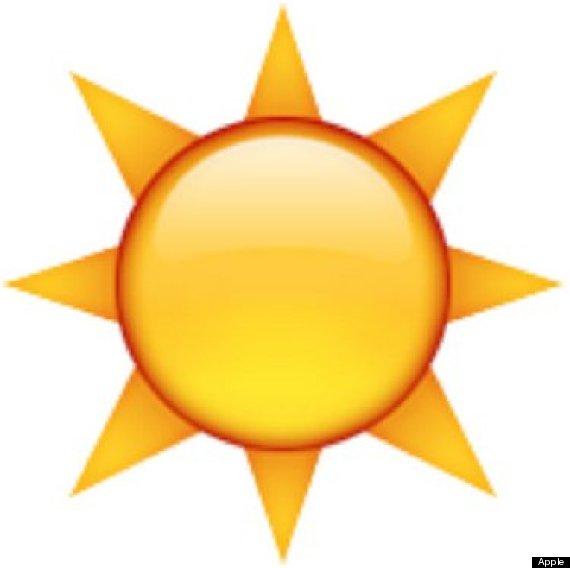 570x568 Sun Clipart Emoji