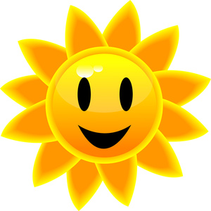 300x300 Sunny Clipart Image