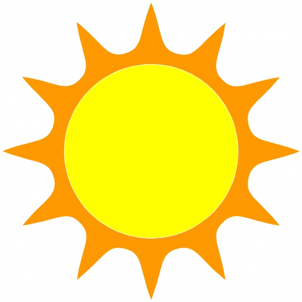 615x615 The Sun 4 Free Stock Photo