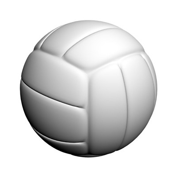 600x600 Volleyball Ball Clipart