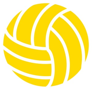 300x293 Volleyball Clipart Image