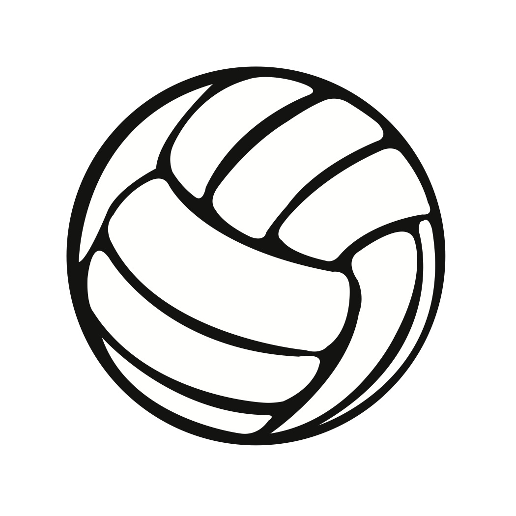 1050x1050 Volleyball Clipart Free Free Clipart Images