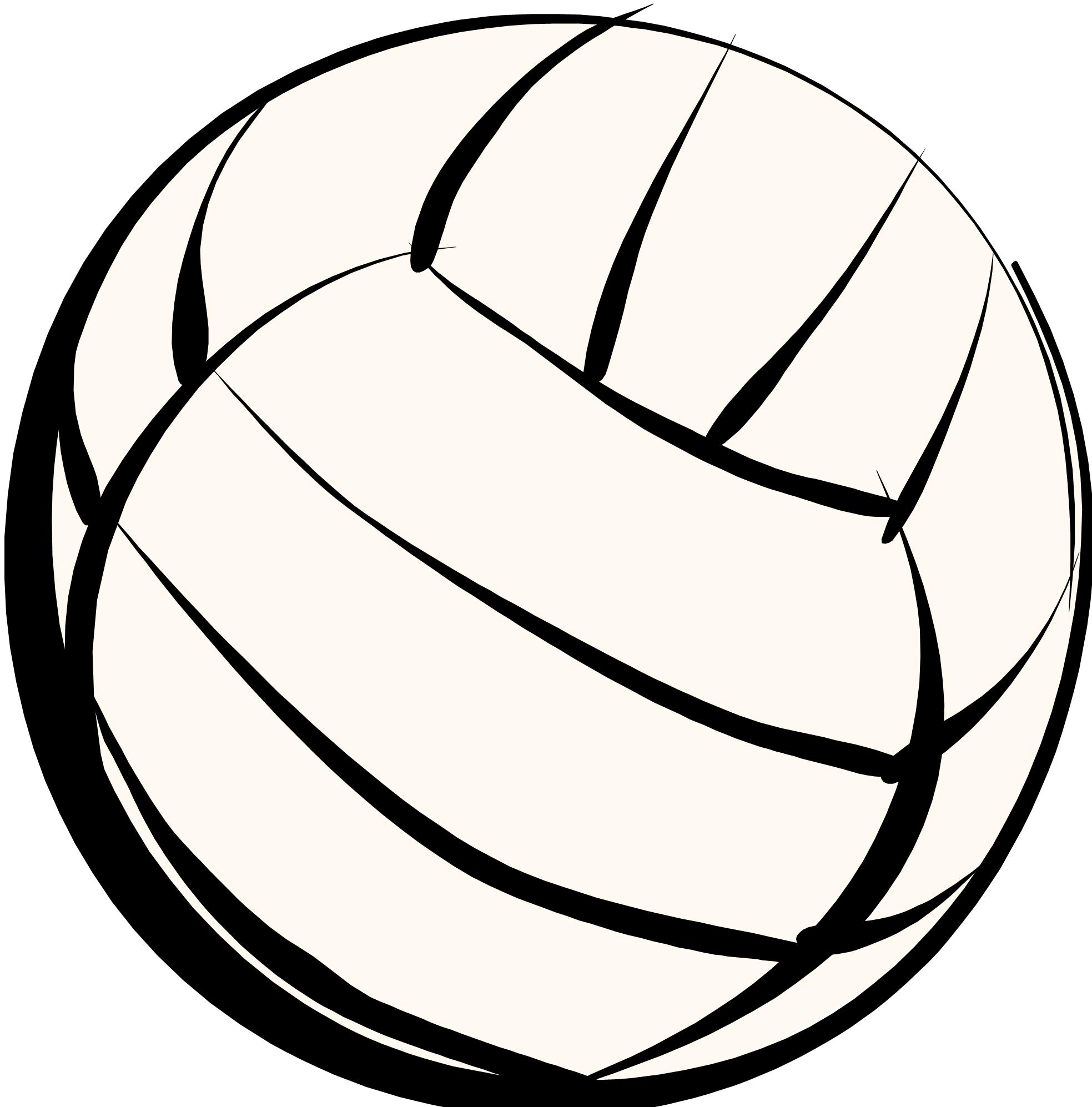 1967x1994 Volleyball Field Clipart