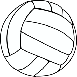 297x299 Volleyball Thin Clip Art