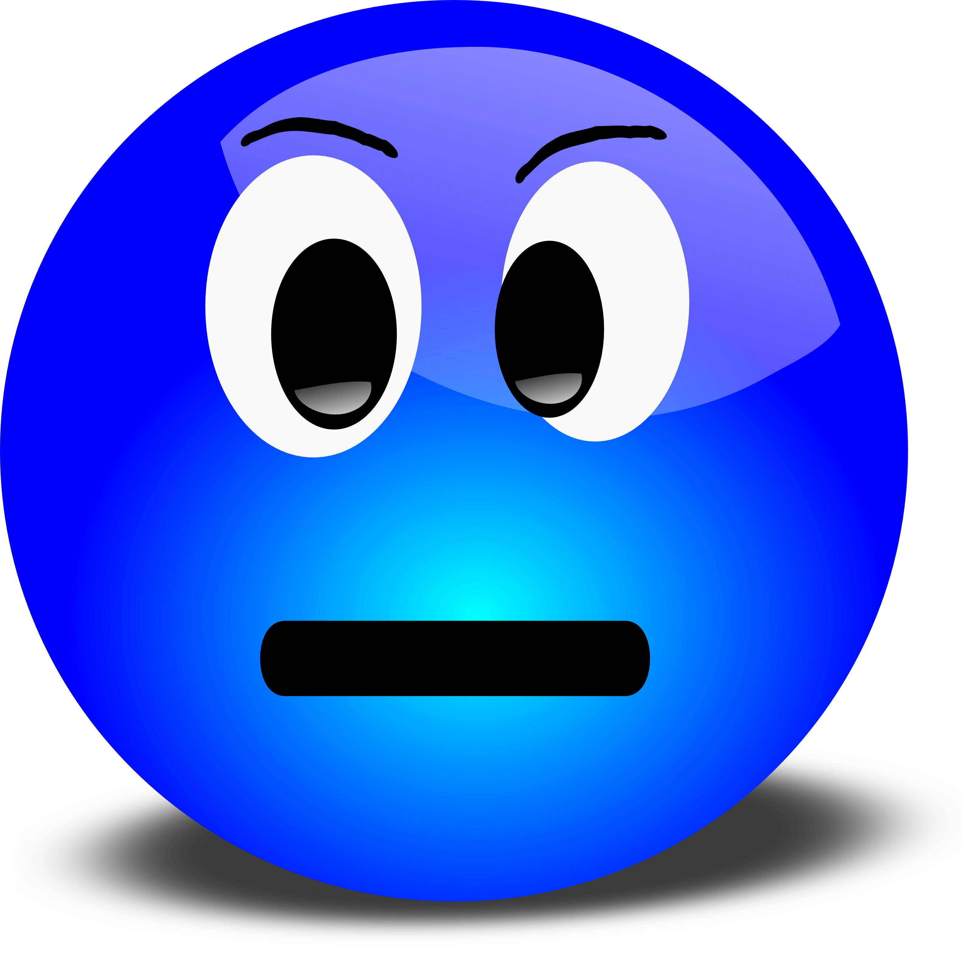 3200x3134 Anger Clipart Grumpy Face