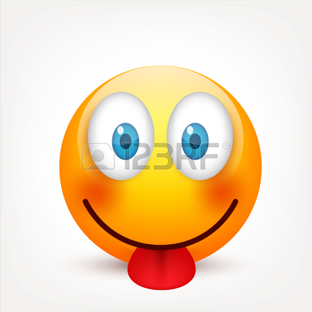 450x450 Smiley,emoticon. Yellow Face With Emotions. Facial Expression