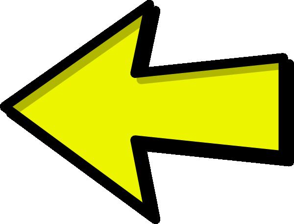 600x457 Yellow Arrows Clipart