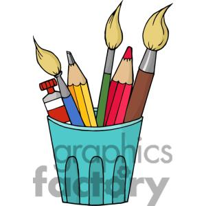 300x300 Brush Clipart Art Supply