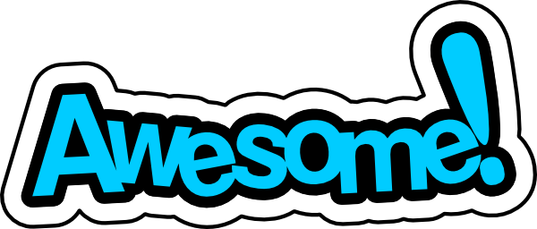 600x256 Free Awesome Clipart Image