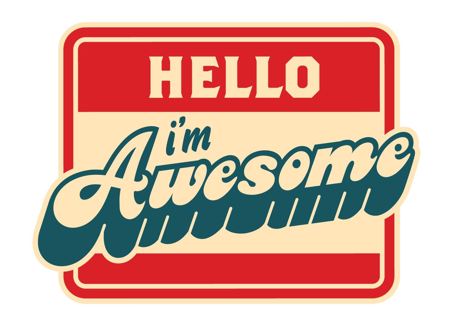1496x1076 Hello I'M Awesome