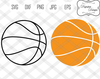 340x270 Basketball Clipart Etsy