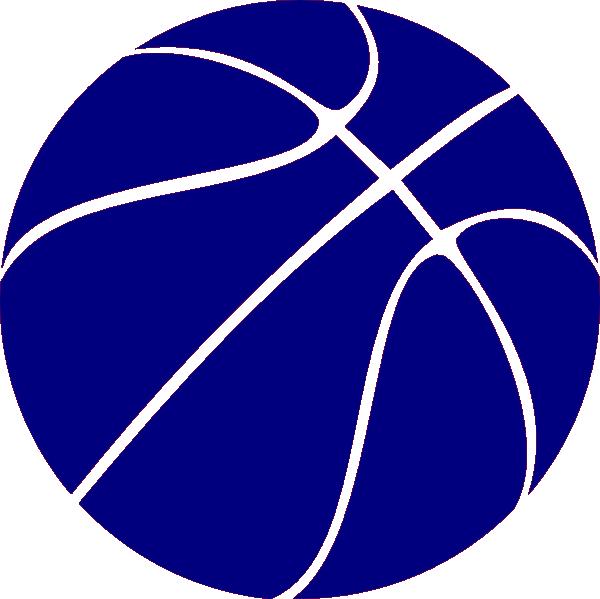600x599 Blue Basketball Clip Art