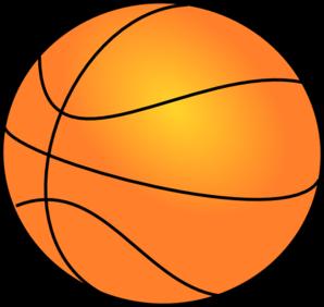 298x282 Half Basketball Clipart