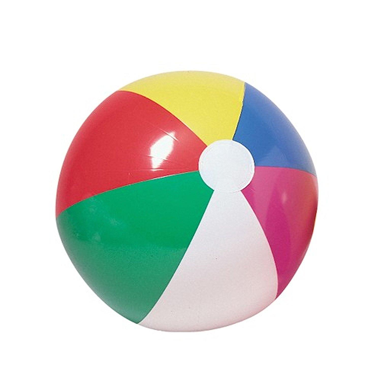 1500x1500 Beach Ball Inflates 20 Inches (One Dozen Bulk) Toys