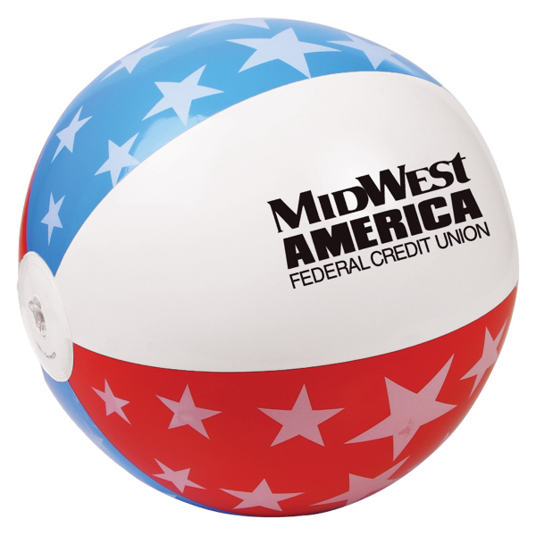 600x600 Beach Balls With Your Logo