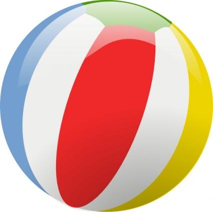 425x423 Cartoon Beach Ball Clip Art Download 1,000 Clip Arts