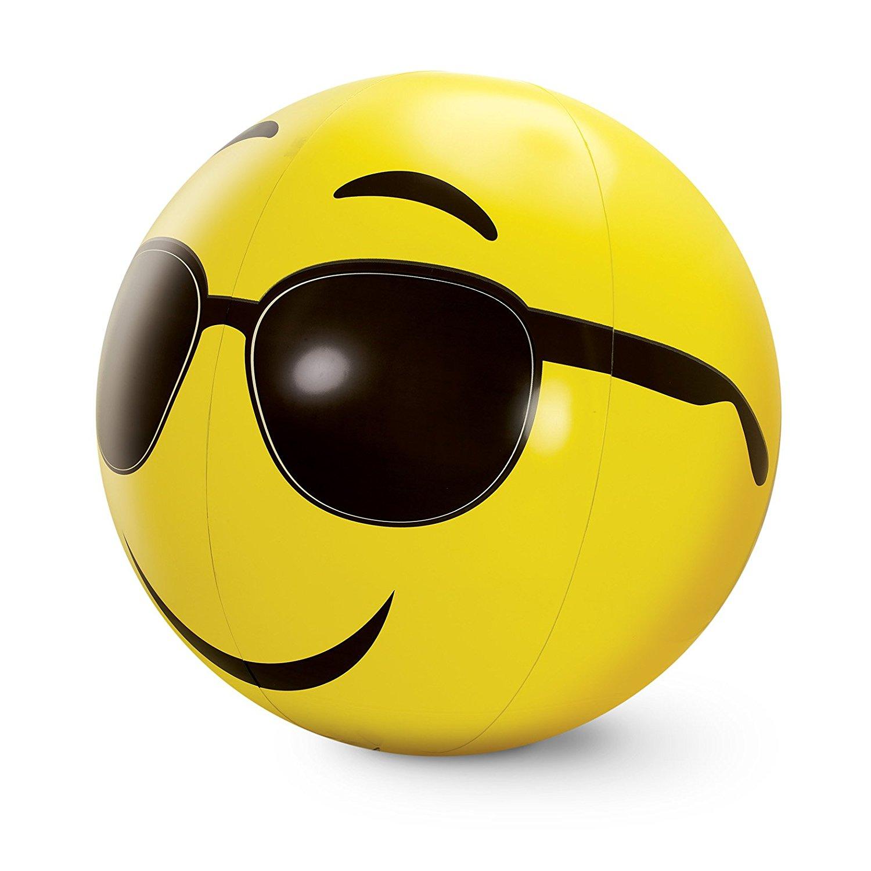 1500x1500 Large Emoji Beach Balls Set Of 3