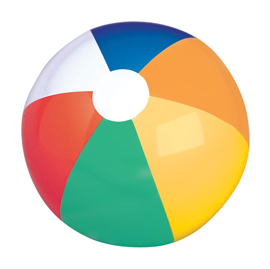 946x940 Multi Color Panel Beach Ball