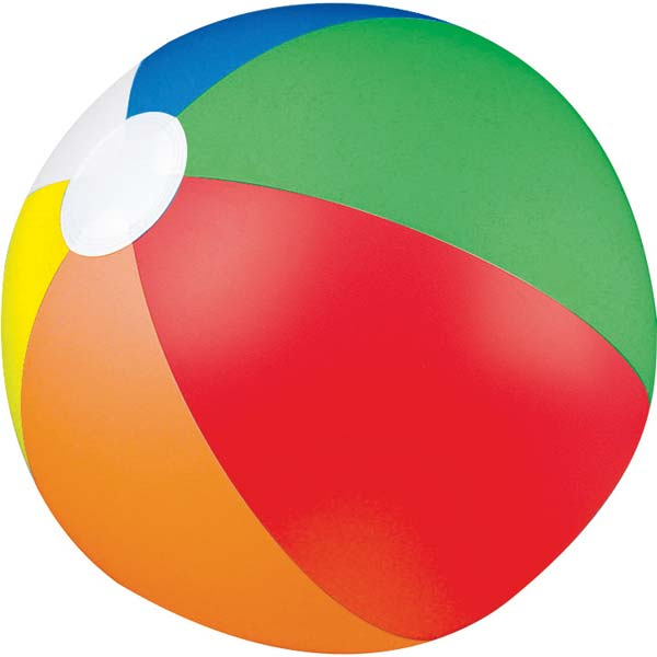 600x600 Pictures Of Beach Balls Clipart Image