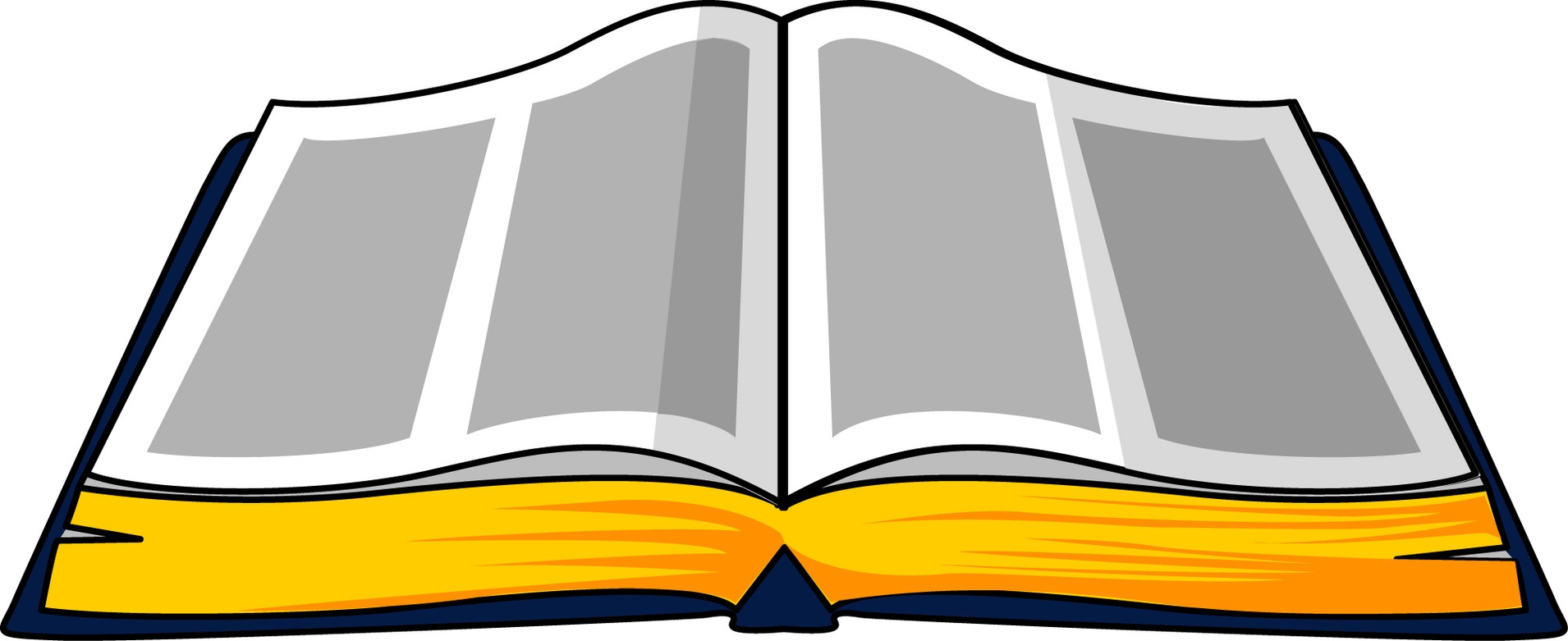 1910x781 Open Holy Bible Clipart
