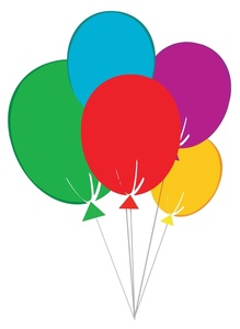 219x300 Free Ballons Clip Art Image