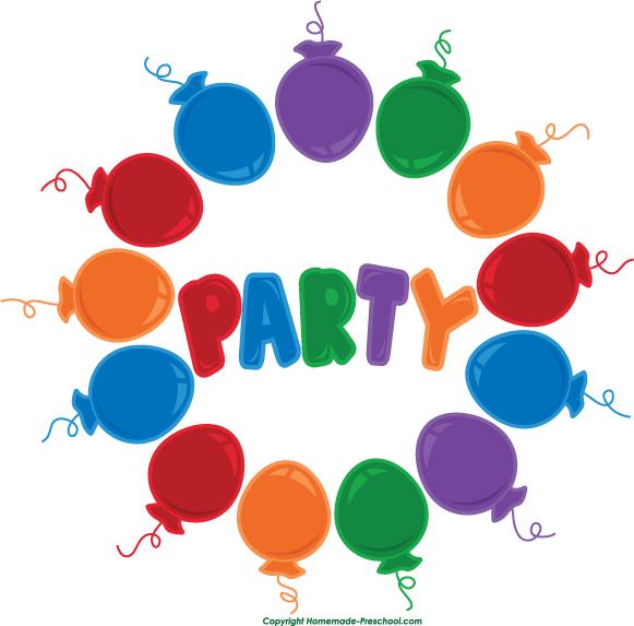 581x573 Free Birthday Balloons Clipart
