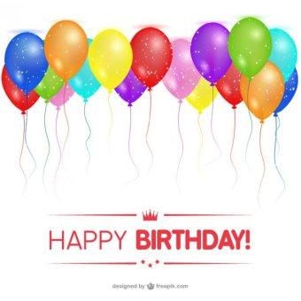 340x340 Happy Birthday Balloons Clip Art 123freevectors