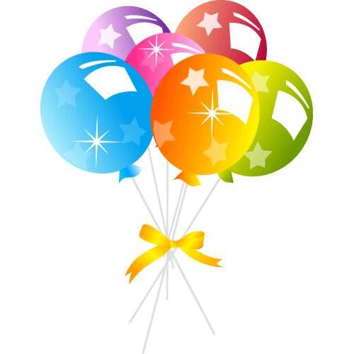 500x500 Balloons Clip Art 14