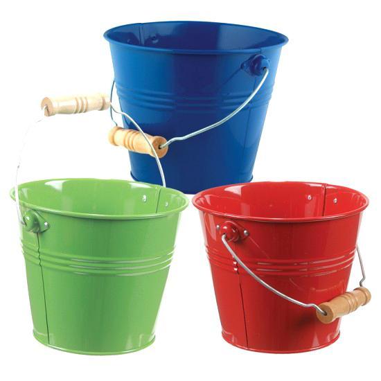 550x550 Small Metal Buckets Buckets Small Metal Buckets 6 Silver Buckets