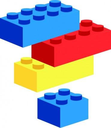 370x425 Building Blocks Clip Art