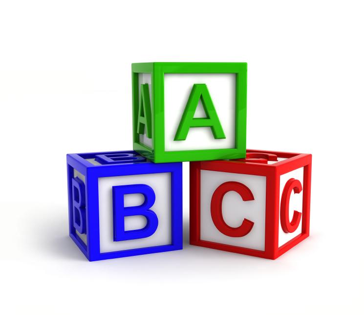 745x644 Abc Building Blocks Clipart