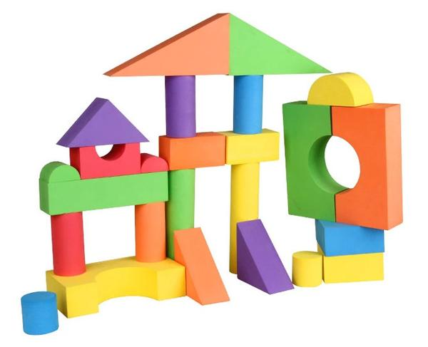 600x487 Viahart Big Old Foam Building Blocks You Are My Everything (Yame