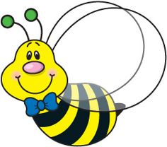 236x208 Bumble Bee Bee Clipart Image Brightly Colored Cartoon Honey Bee
