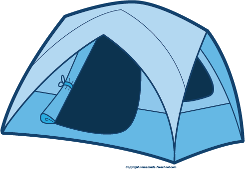 491x340 Free Camping Clipart