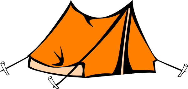 600x284 Tent Clipart Camping Tent