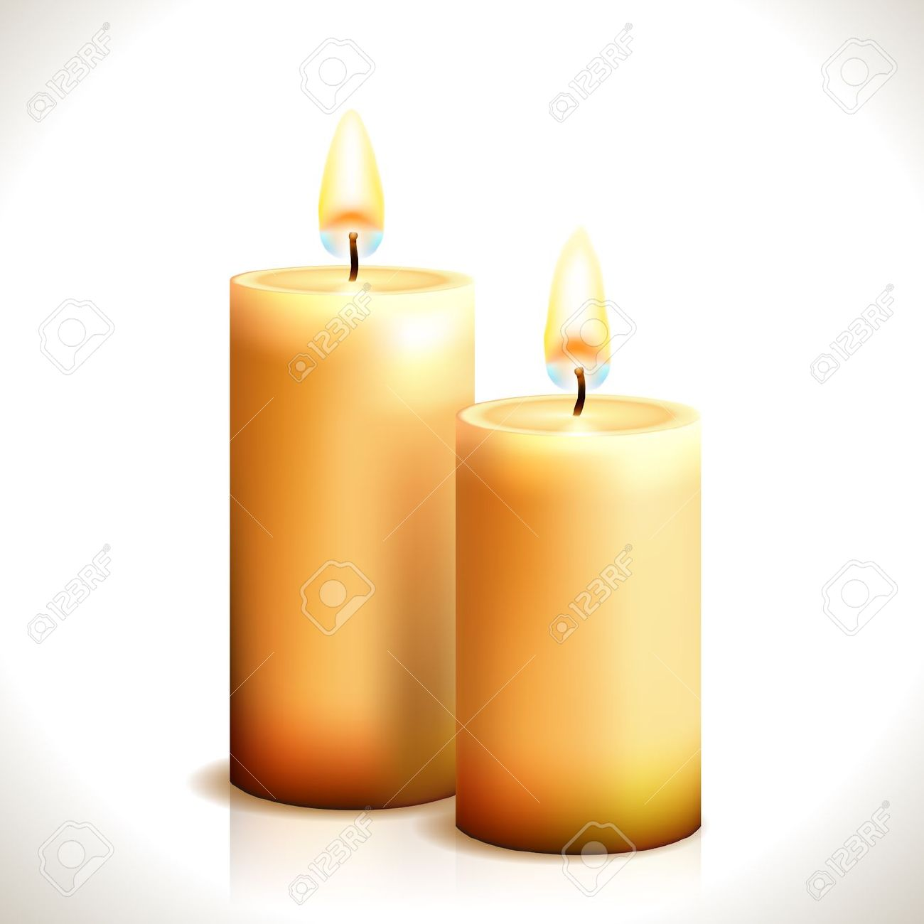 1300x1300 Melting Candle Clipart Church Candle