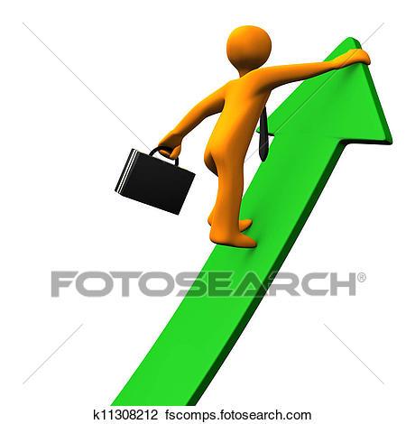 450x470 Clip Art Of Career Success Green Arrow 2 K11308212